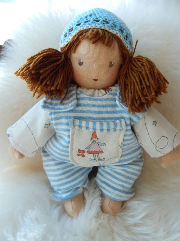 Schlamperle, Waldorfpuppe, Steiner doll, cuddle doll, handgemacht, handmade, Bio, Öko, Naturmaterial