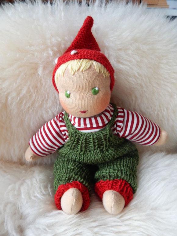 Schlamperle-Puppe, erste Puppe, Wunschpuppe, individuelle Puppe, Puppe passend zum Kind, Puppe die aussieht wie das Kind, Stoffpuppe, Bio-Stoffpuppe, handgemachte Puppe, handgefertigte Puppe, Waldorfpuppe, Puppenhandwerk Pärsch, custom doll, WaldzwergFlip