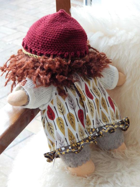 Schlamperle, Puppe, Stoffpuppe, erste Puppe, Bio-Stoffpuppe, handgemachte Stoffpuppe, handgefertigte Puppe, Waldorfpuppe, Waldorfart, Puppe für die Inneres-Kind-Arbeit, ökologische Kinderpuppe, Puppenhandwerk Pärsch, individuelle Puppe, Wunschpuppe