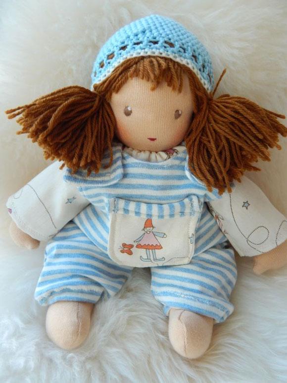 Schlamperle, Waldorfpuppe, Steiner doll, cuddle doll, handgemacht, handmade