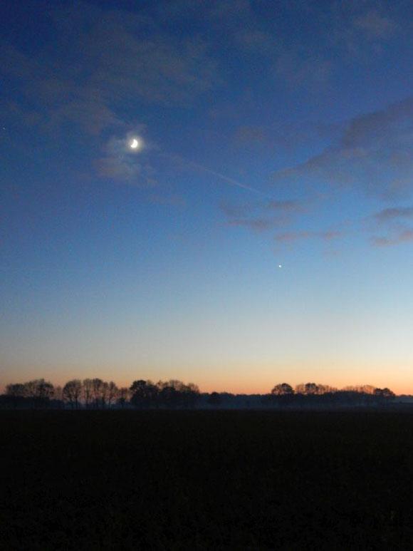 Venus, Abendstern, Weihnachtsstern