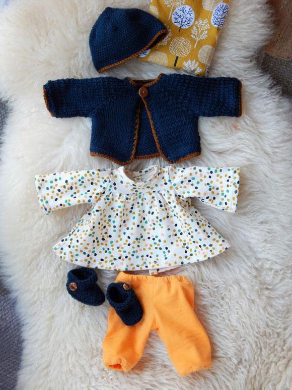 Bio-Stoffpuppe, Wunschpuppe, Puppe für das innere Kind, Puppenkleiderset, handgefertigte Puppe, handgemachte Stoffpuppe, ökologische Kinderpuppe, individuelle Puppe passend zum Kind, Wunschpuppe, Puppe nach Wunsch, Puppenhandwerk, Jennifer Kliem-Pärsch