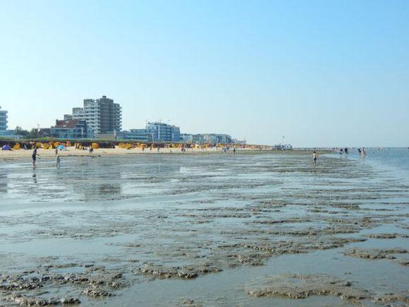 Cuxhaven, Dunen