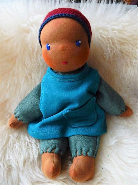 Vorher - Puppe für Hannah im Dezember 2016