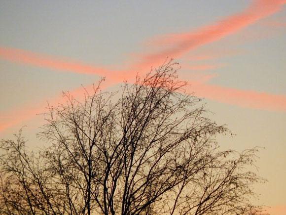 Abendhimmel im November