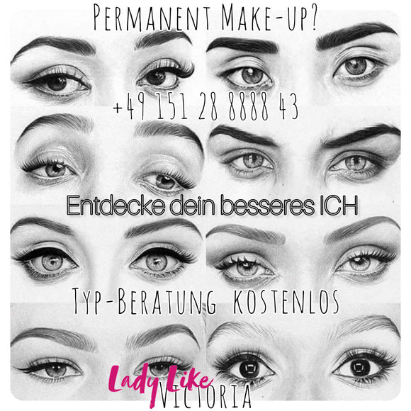 Augenbrauen Tattoo