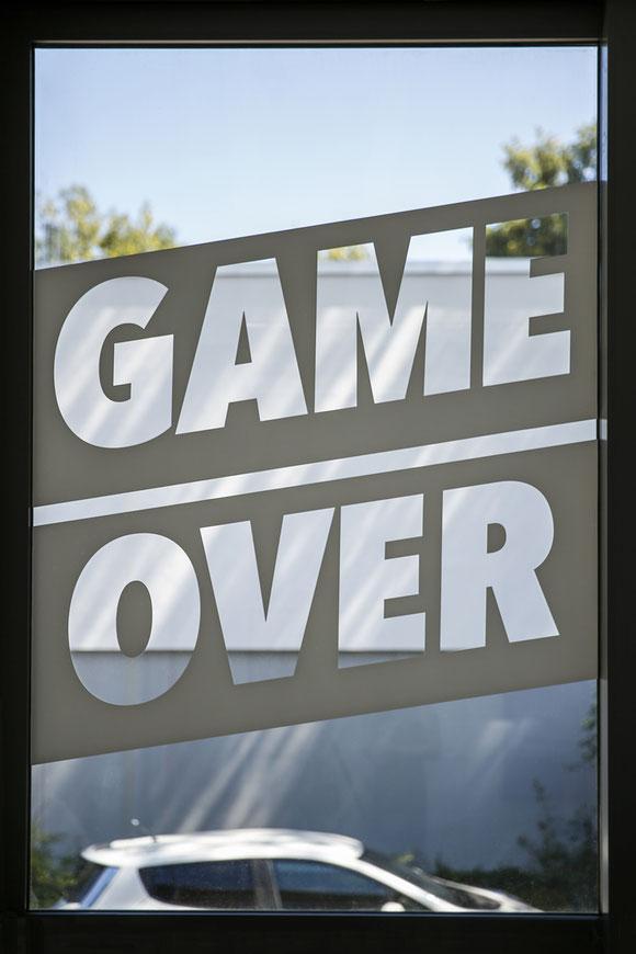 GAME OVER exhibition by Martin Tony Häußler_Friederike Wübbeler_Lisa Wübbeler_Natascha Burk