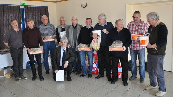 De nombreuses dotations de Jean-Claude PLURIAU (sponsor Versele Laga)   !