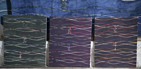 SF 3 peintures 65cm x 54cm ©BD-F