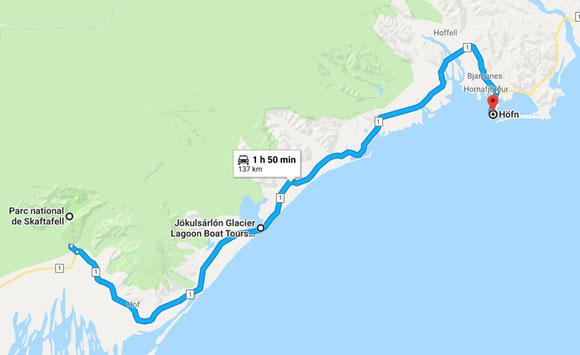 Itinéraire jour 6