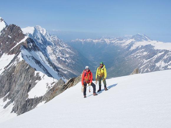 Bergsteigen im Lötschental foto@david