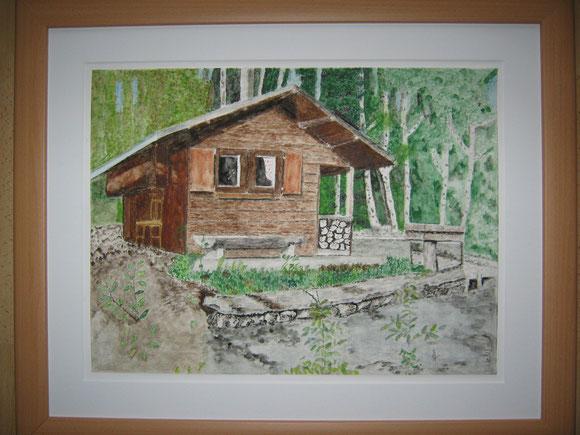 Waldhütte nach M.Vallböhmer