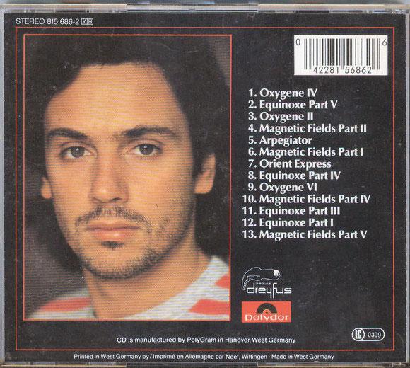 JEAN-MICHEL JARRE - Musik aus Zeit und Raum (hinten)