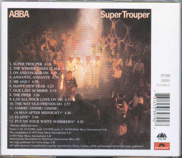 ABBA - Super Trouper (hinten)