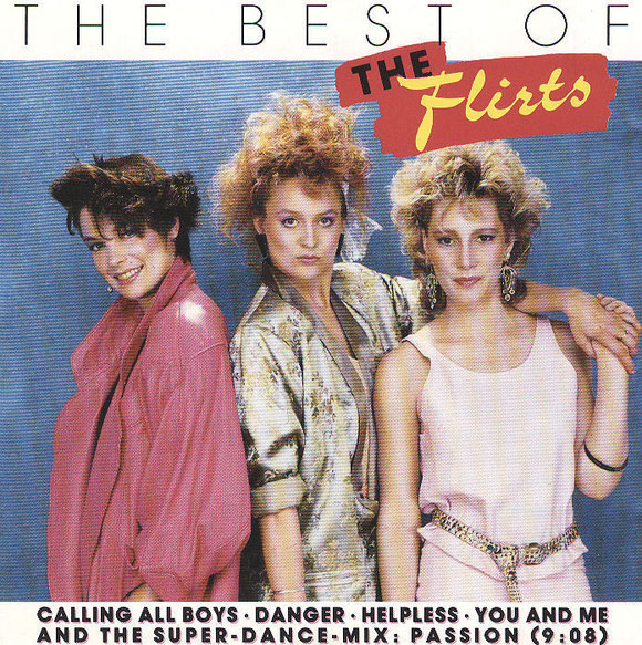 THE FLIRTS - THE BEST OF (vorne)