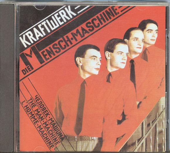 KRAFTWERK - DIE MENSCH-MASCHINE (vorne)