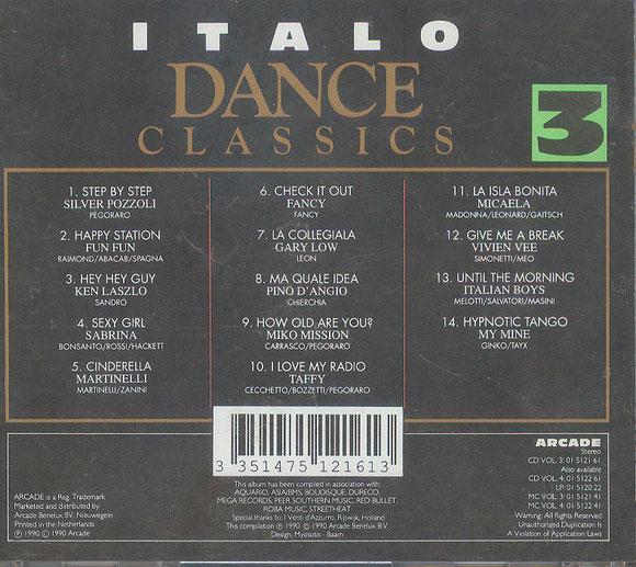 ITALO Dance Classics 3 (hinten)