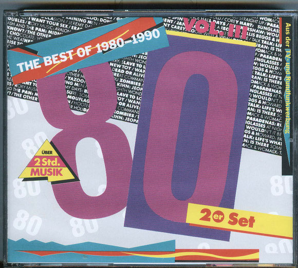 THE BEST OF 1980 - 1990 Vol. III (vorne)