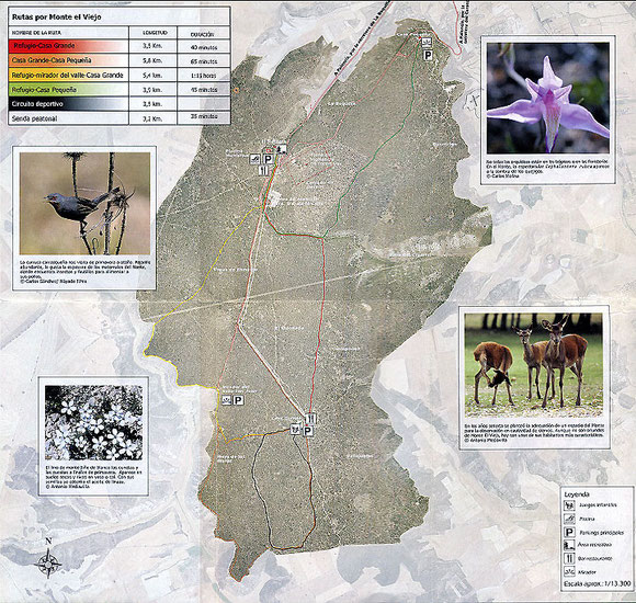 Mapa Monte El Viejo palencia