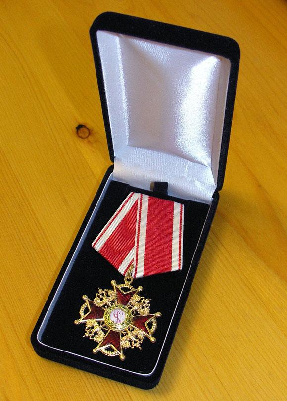 Орден Святого Станислава III степени