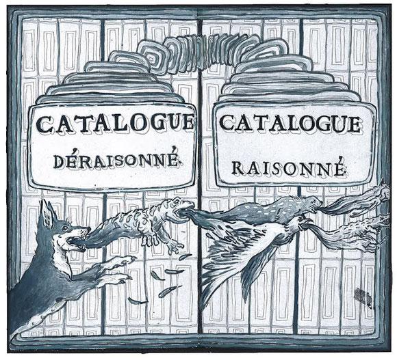 Illustration d'Alexandre Léger : Catalogue raisonné  / catalogue déraisonné