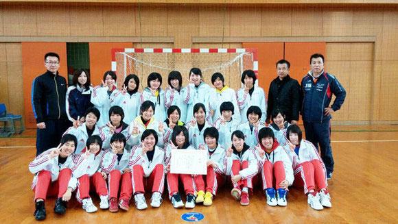 女子優勝 佐賀清和高校
