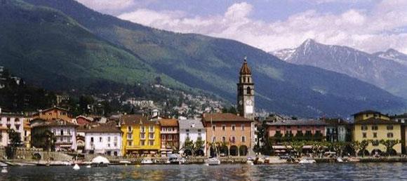 Nur einen Katzensprung entfernt: Ascona am Lago Maggiore