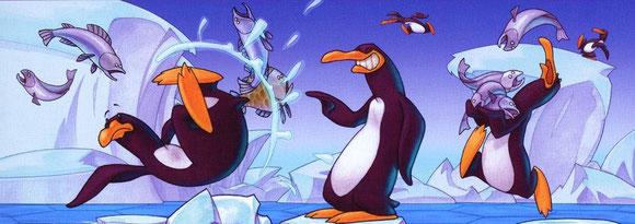 (illus. de François Bruel issue du jeu Pingouins)