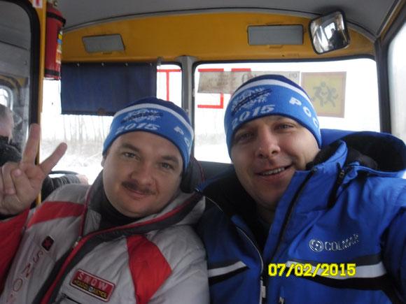 В пути на лыжню России 2015!  Селфи с министром спорта Моршанского района!