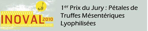1er prix inoval pétales de truffes mésentérique lyophilsées