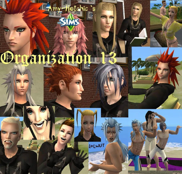 Organization XIII Sims downloadable