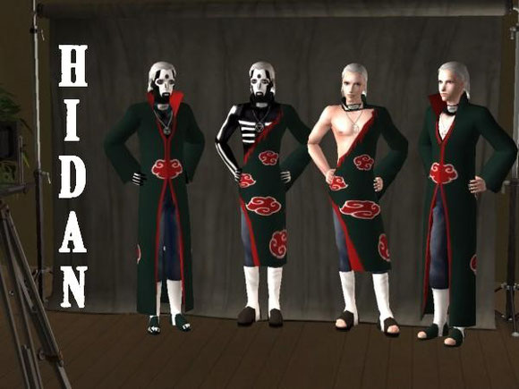 Yo,I made an update 8D Its Hidan in all his glory,versions and shapes xD DOWNLOAD AVAILIBLE UNDER >>>ANIME SIMS<<<Naruto,Akatsuki & so on    Go get him! I will probably upload Kakuzu without cloak soon ^^ comments plz? (no shitty registration needed ;)