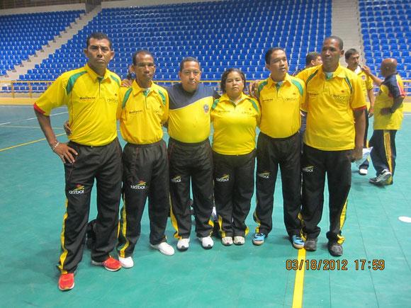 ESCALAFON ARBITROS PROFESIONALES DFS BUCARAMANGA MARZO 2012.