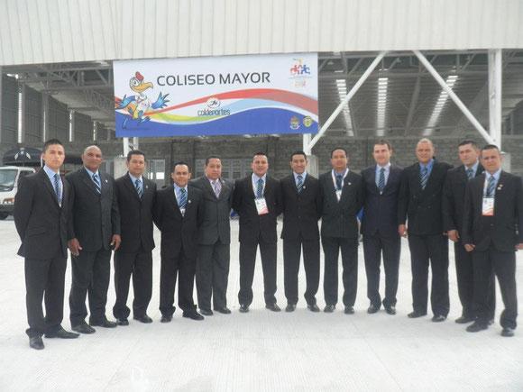 AUTORIDADES DE JUZGAMIENTO FÚTBOL DE SALÓN JUEGOS DEPORTIVOS NACIONALES POPAYAN 2012