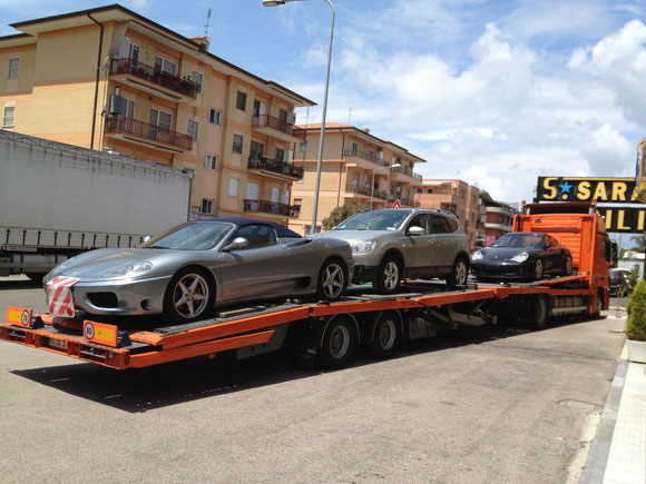 Autotransport Deutschland Italien