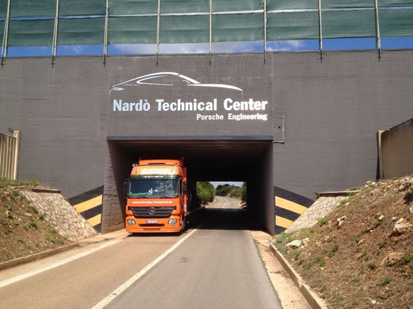 Heimfahrt vom NTC Nardo Technical Center