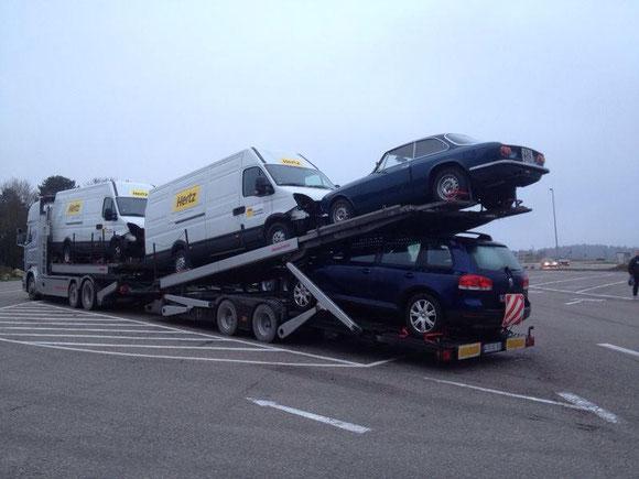 Einzeltransporte, Sammeltransporte, Autovermietung, Daily, Sprinter, Rent a car, Rent a Truck