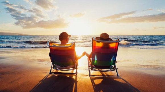 vivre retraite au soleil
