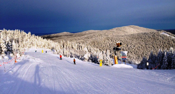 photo prise le 30 novembre 2013 Mont-Tremblant