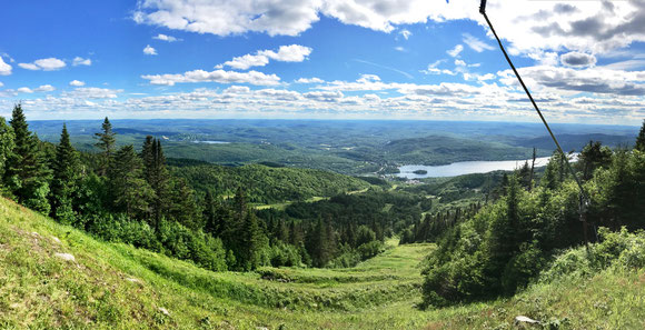 Mont-Tremblant photo prise le 26 juin 2017