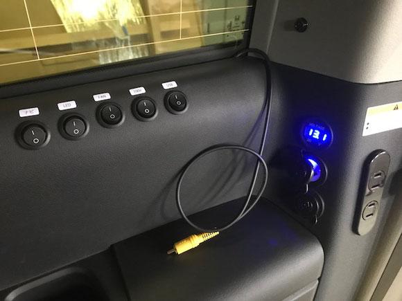 ステップワゴンにサブバッテリー&100Vコンセントキットを装着しました
