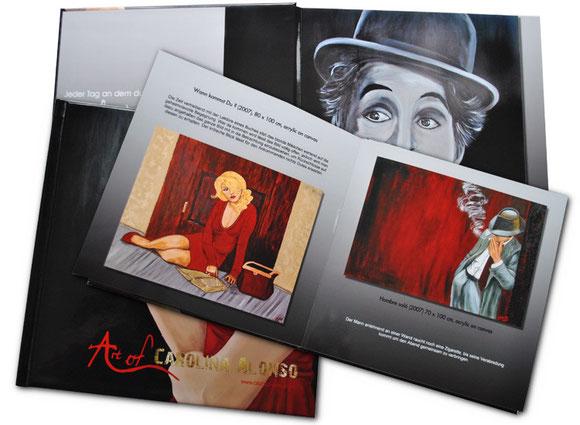 Hardcover HD-Glanz 20 x 20 cm, 74 Seiten,  65,00 €