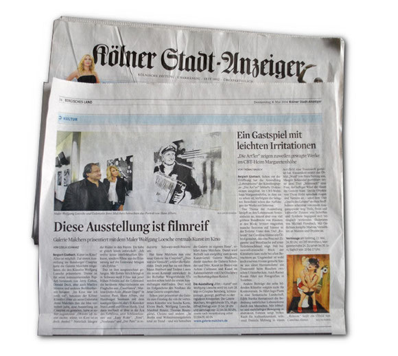 Kölner-Stadt-Anzeiger Ein Gastspiel mit leichten Irritationen