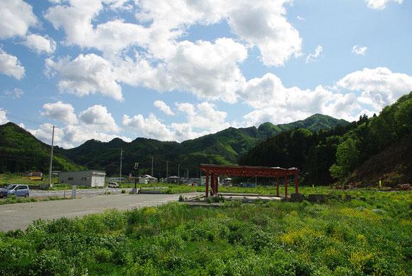 いちめんに、暮らしのあった場所 〜釜石市鵜住居地区