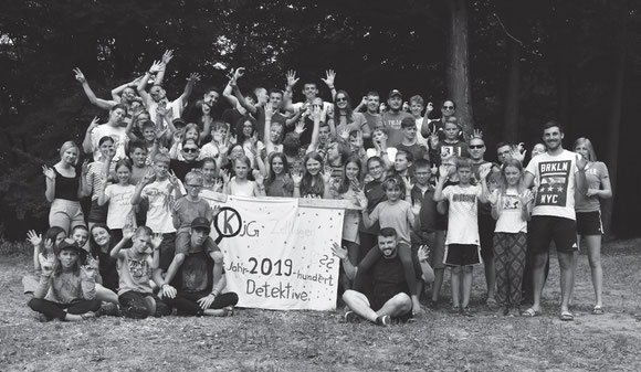 KjG-Zeltlager 2019     -   Detektive unterwegs