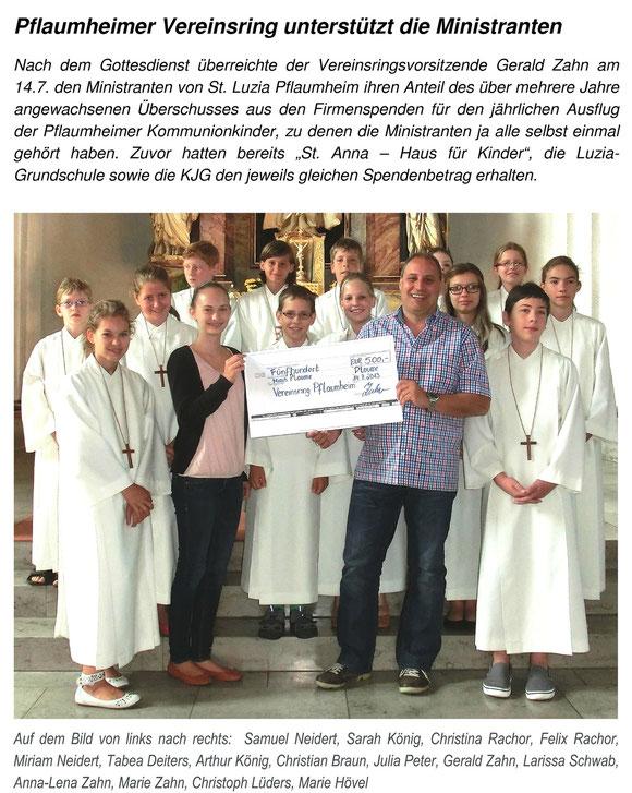 Bachgau-Bote 18.7.2013