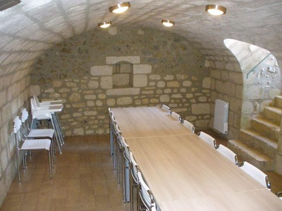 Salle de réception pour 15 personnes