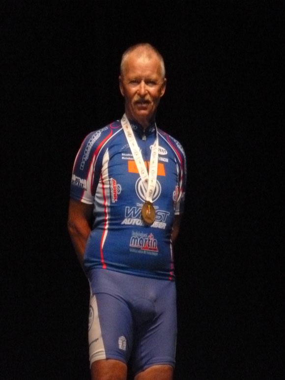 Herbert mit Bronzemedallie