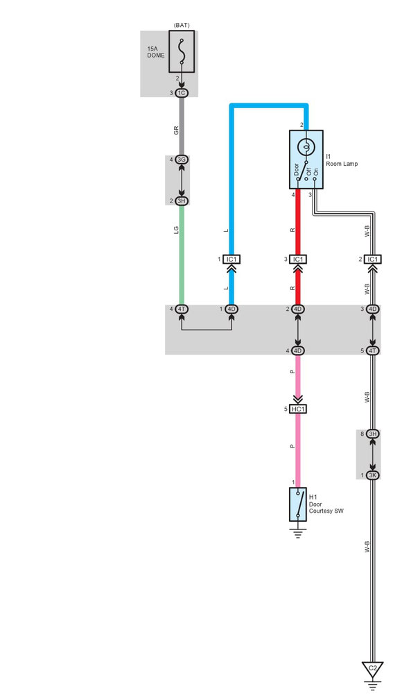 Peugeot 107 Wiring Diagram