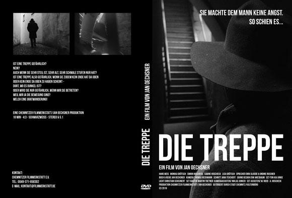 Cover DVD Kurzfilm Die Treppe